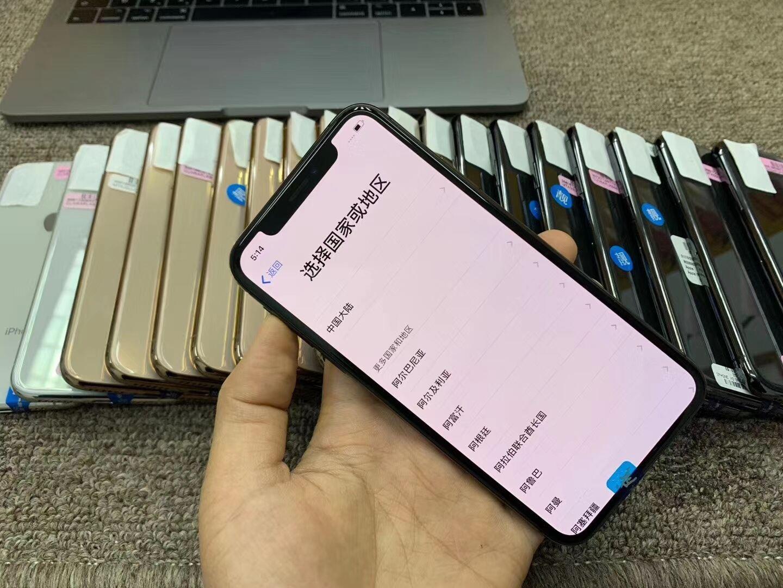 二手 苹果/iPhone XS 黒解 有锁机卡贴机 精选原装 64G/256G512G 二手手机报价 代采批发