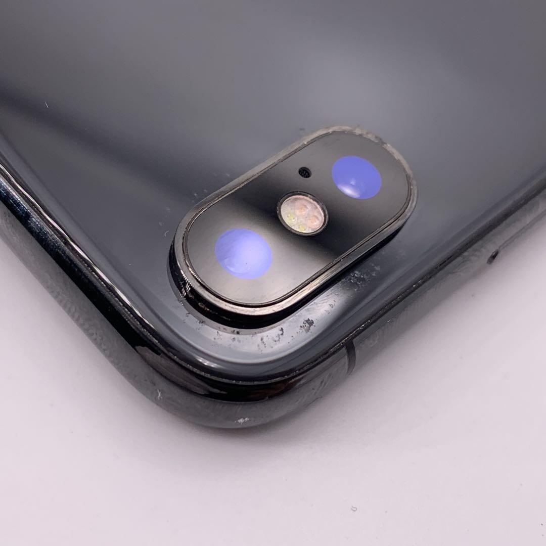 编号2301 二手9新 苹果手机/iPhoneX 256G 深空灰 全网通4G
