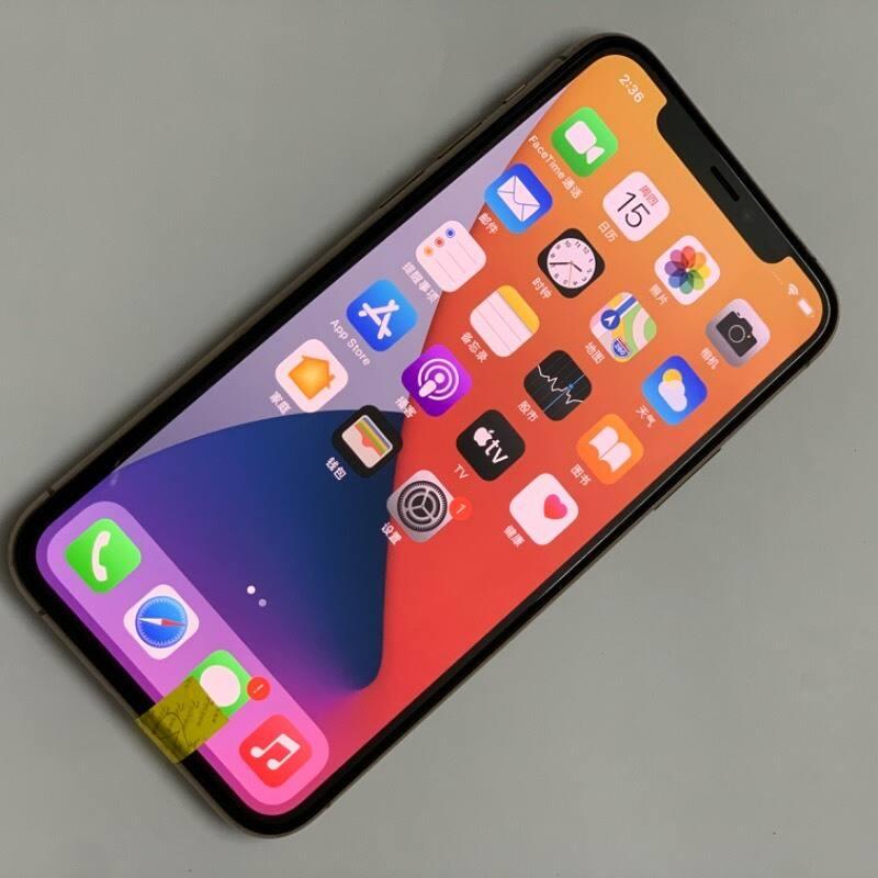 编号3184 二手9新 苹果/iPhone11Pro 64G 金色 全网通4G 卡贴版