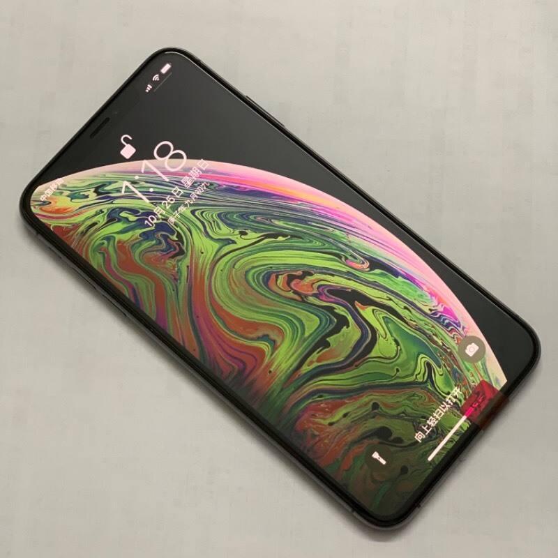 编号9387 二手9新 苹果手机/iPhoneXS Max 256G 黑色  美版 全网通4G