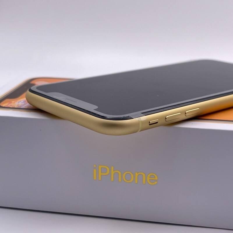 官换新机 苹果/iPhone XR 128G 日版 未激活 全网通4G 黄色 编号8872