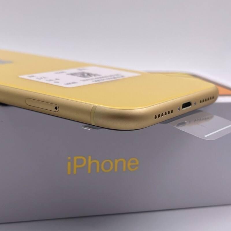 官换新机 苹果/iPhone XR 128G 日版 未激活 全网通4G 黄色 编号0743