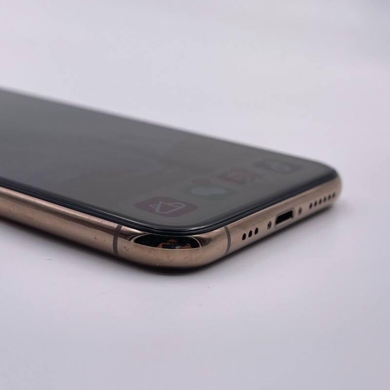9新 苹果/iPhone 11 Pro 64G 黑解卡贴机 全网通4G 金色 编号7432