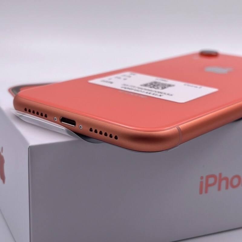 官换新机 苹果/iPhone XR 128G 日版 未激活 全网通4G 珊瑚色 编号1736