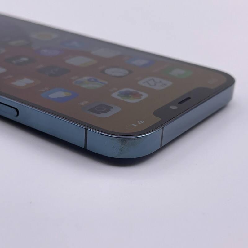 9新 苹果/iPhone12 Pro Max 128G 海外版 全网通5G 蓝色 编号7616