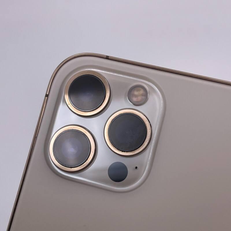 95新 苹果/iPhone12 Pro Max 128G 海外版 全网通5G 金色 编号8563