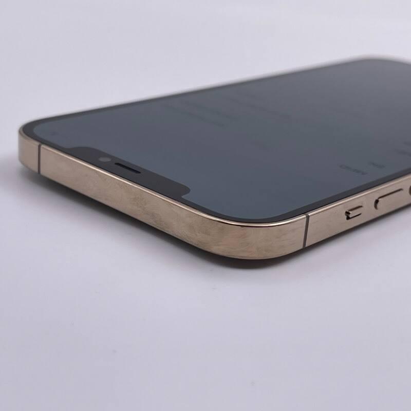 9新 苹果/iPhone12 Pro Max 128G 海外版 全网通5G 金色 编号0509