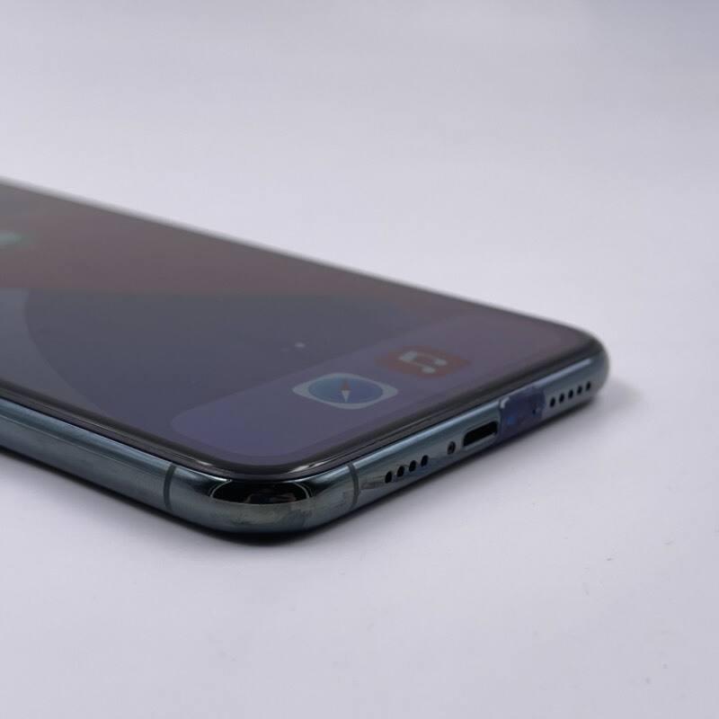 99新 苹果/iPhone11 Pro Max 64G 国行 全网通4G 双卡 绿色 编号7843