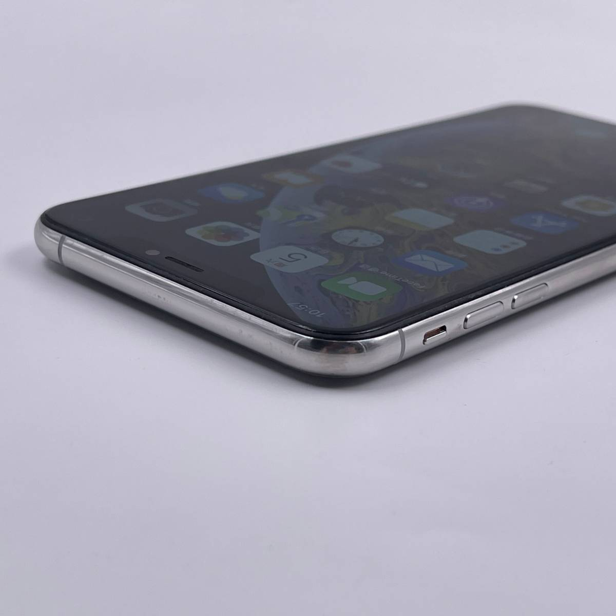 95新 苹果/iPhoneXS Max 256G 海外版 全网通4G 白色 编号4361
